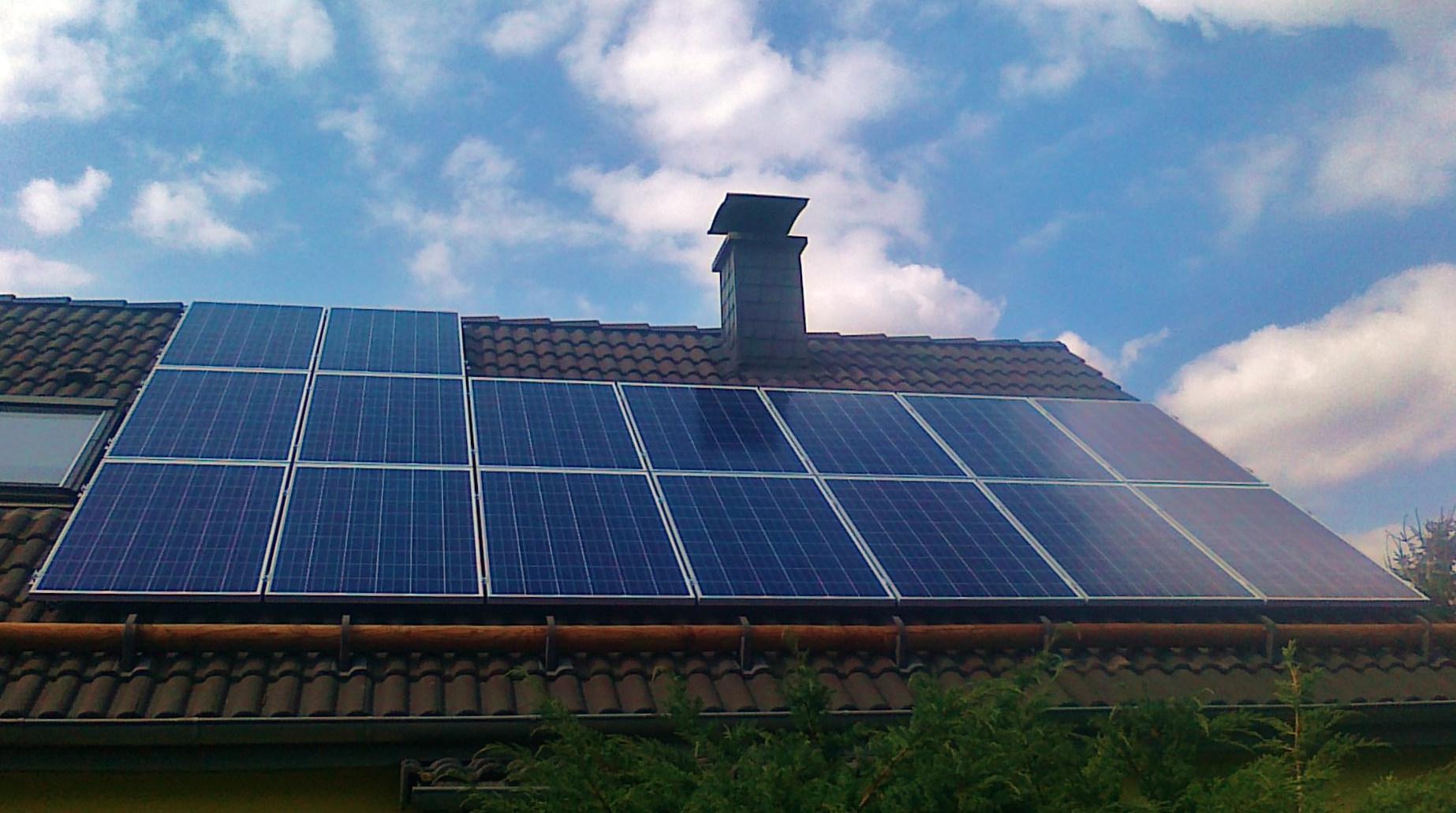 PV-Solaranlage Photovoltaik 04651 Bad Lausick 4kWp