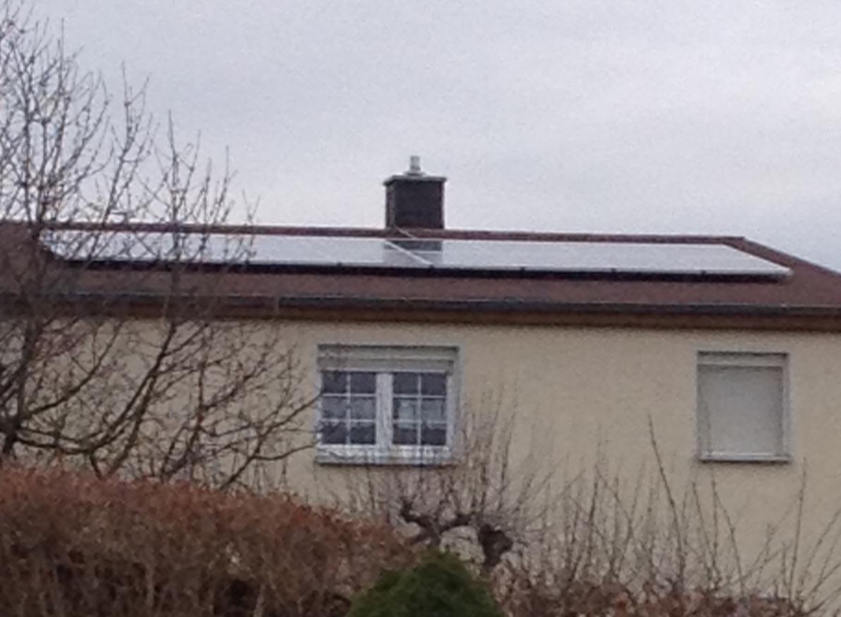 Solaranlage PV 4,0 kWp 04463 Großpösna fertig