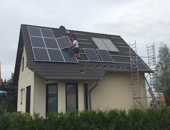 Solaranlage PV 4,94 kWp 04519 Podelwitz Montage
