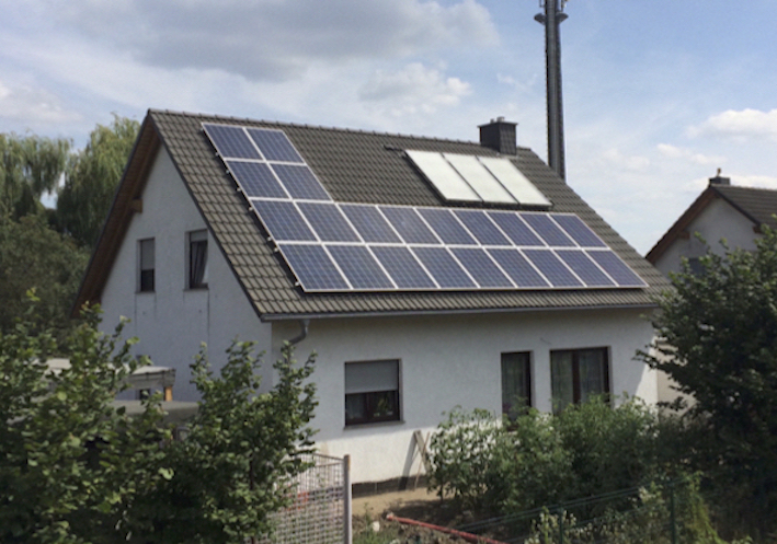 Solaranlage PV 9,9 kWp 06237 Leuna West
